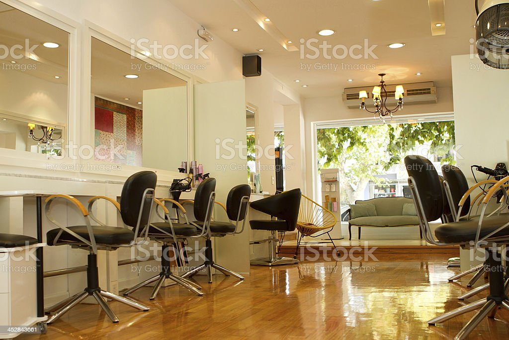 Hair salon royalty-free stock photo