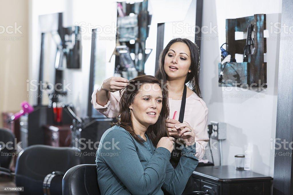 Peluquería - foto de stock