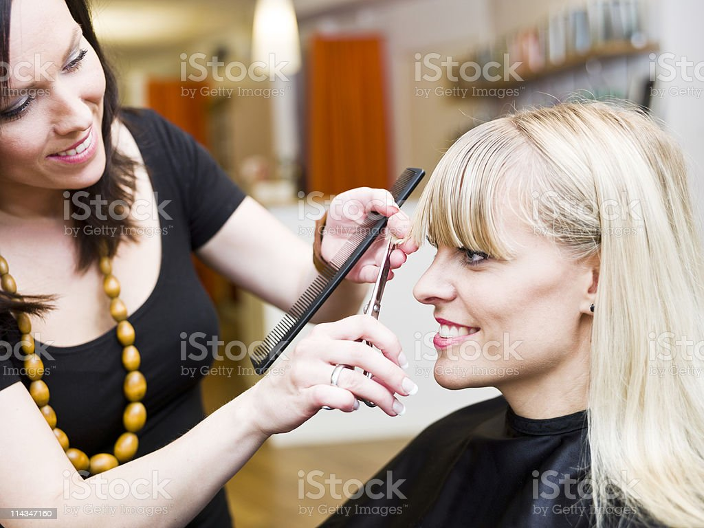 Hair Salon situation royalty-free stock photo