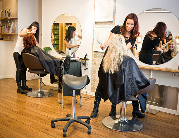 Hair salon pictures images and stock photos istock for A salon vancouver