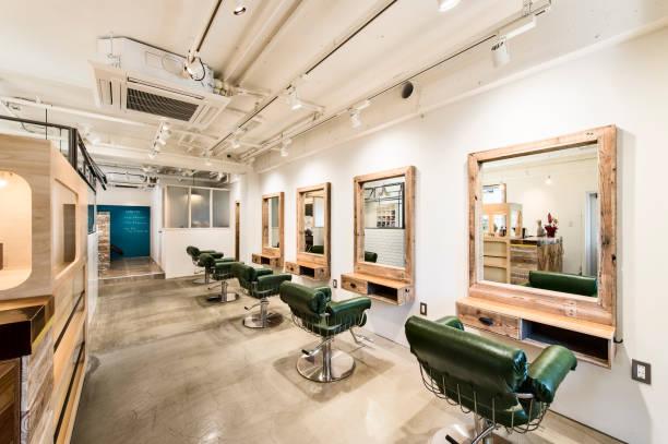 日本、京都のヘアサロンのトイレ - 美容院 ストックフォトと画像