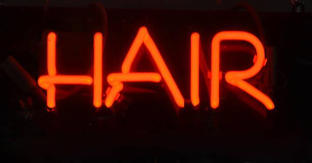 Hair Sign stock photo