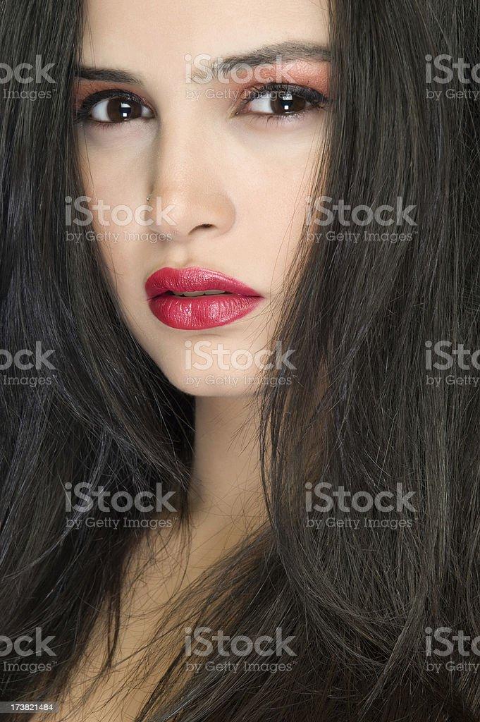 Hair Style royalty-free stock photo
