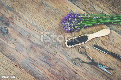 1169941952istockphoto Hair styling tools background. 980241126