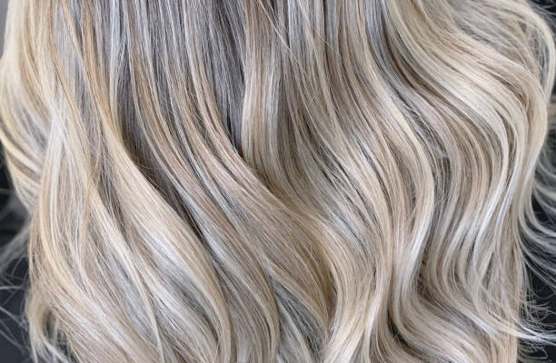 Hair waves Conceptual hair blonde waves blond hair stock pictures, royalty-free photos & images