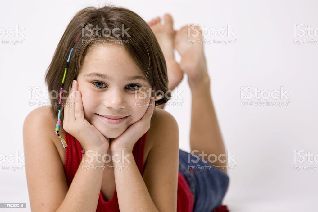 Hair Weave royalty-free stock photo