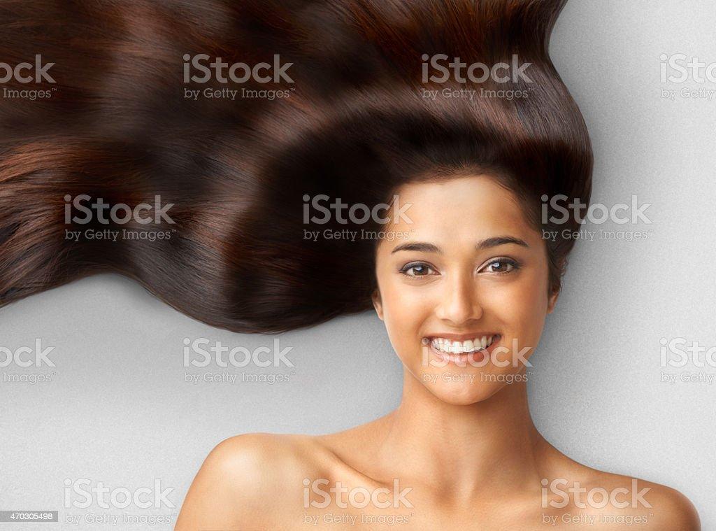 Haircare stock photo