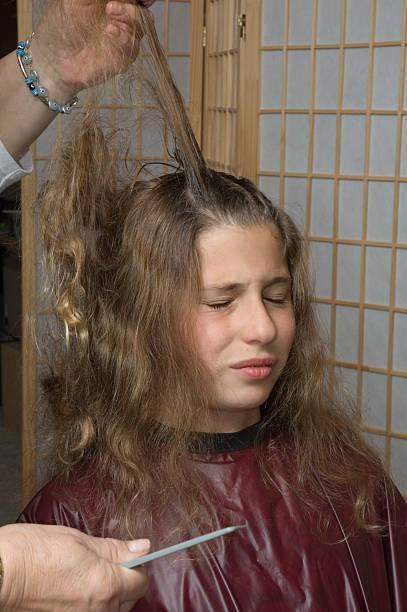 haircut 10 stock photo
