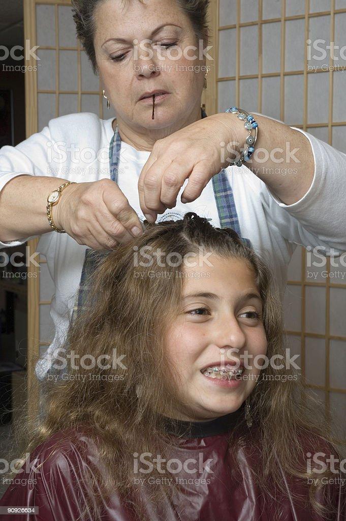 haircut 12 royalty-free stock photo