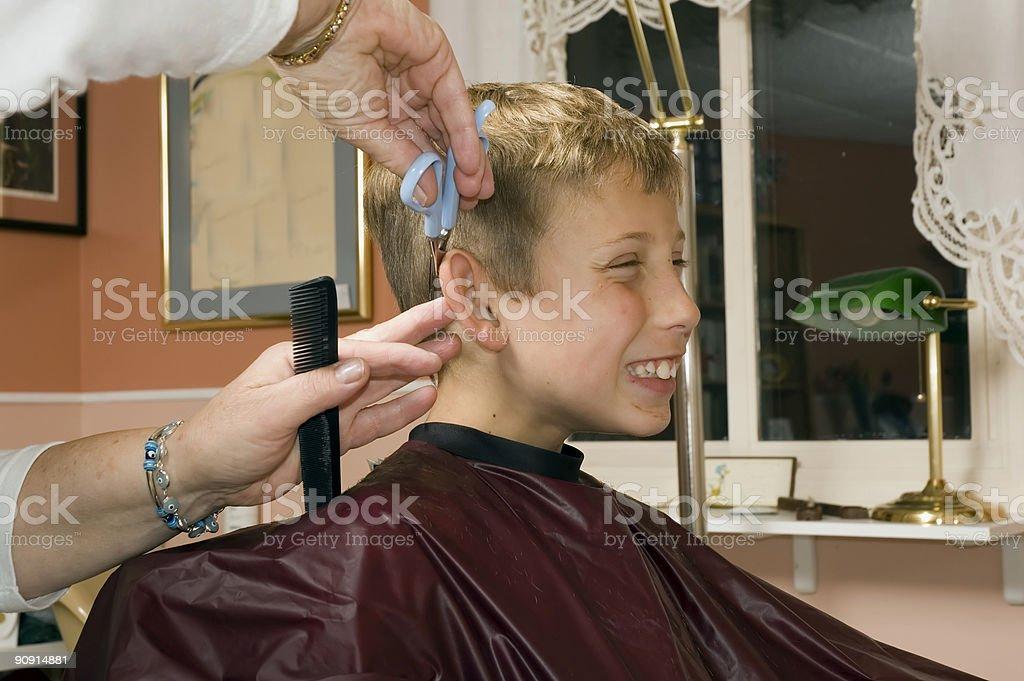 haircut clipper 3 stock photo