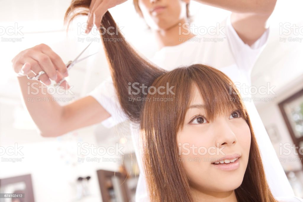 Haircut images royalty-free stock photo