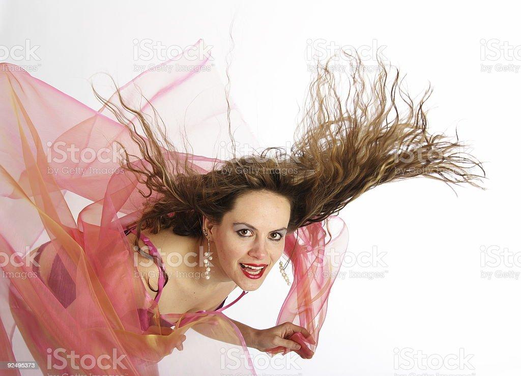 Hairdance 11 royalty-free stock photo