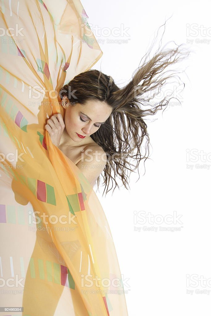 Hairdance 25 royalty-free stock photo