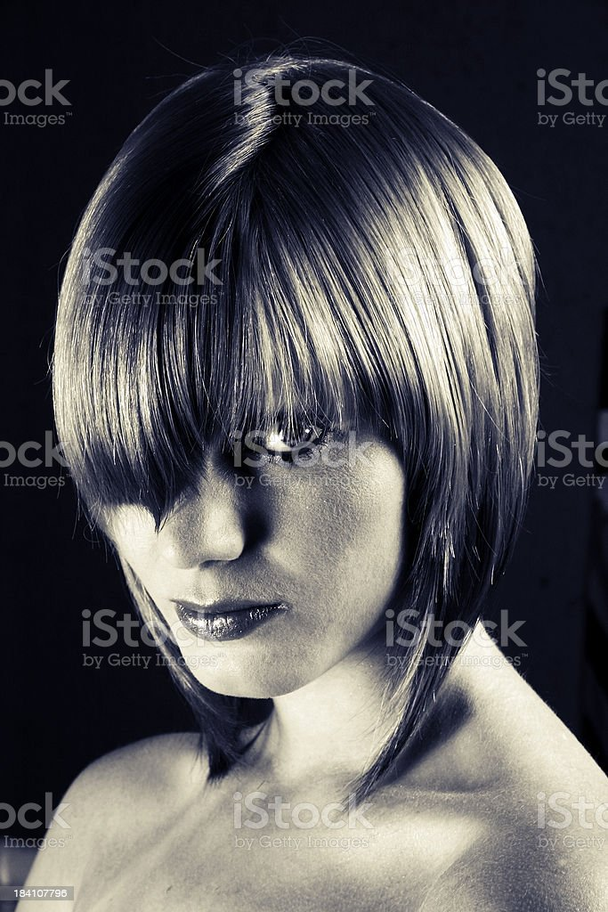 Hairdo royalty-free stock photo