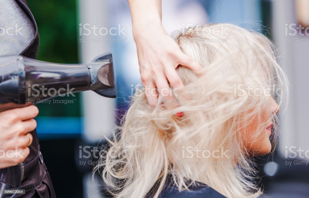 Hairdresser Beauty Studio stock photo