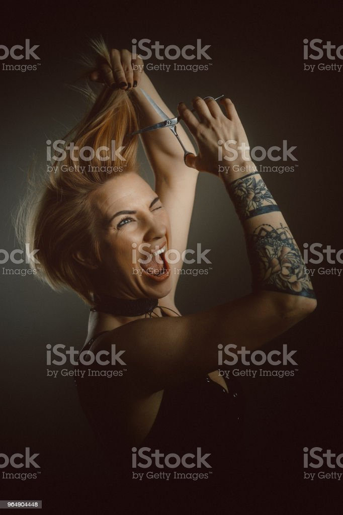 Hairdresser Portrait royalty-free stock photo