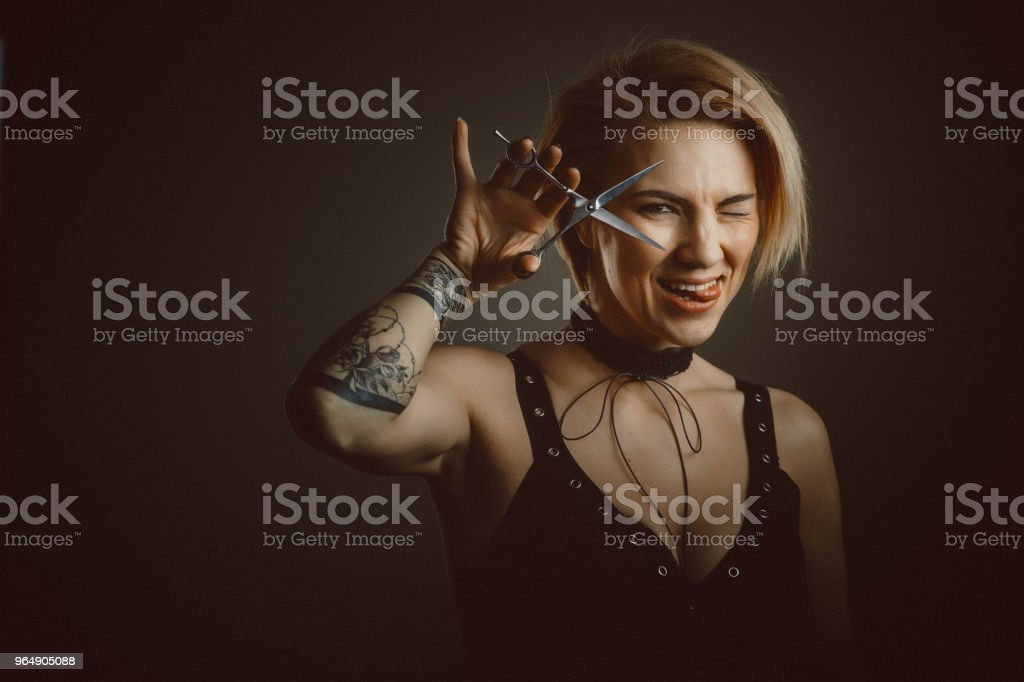 Hairdresser Portrait royalty-free stock photo