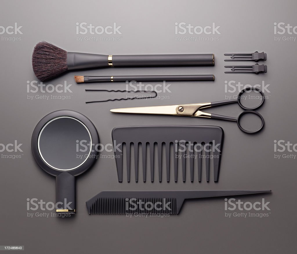 Hairdresser's tools royalty-free stock photo