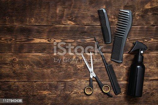 istock Hairdressing. 1127940436