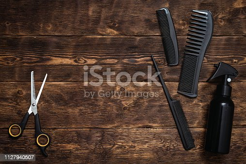 istock Hairdressing. 1127940507