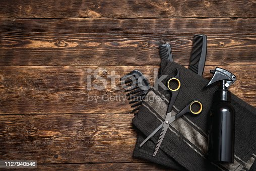istock Hairdressing. 1127940546