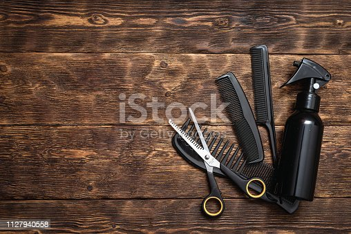 istock Hairdressing. 1127940558