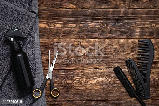 istock Hairdressing. 1127940618