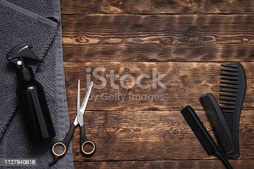 istock Hairdressing. 1127940618