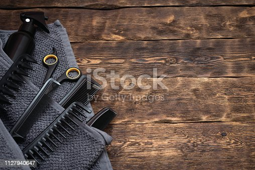 istock Hairdressing. 1127940647