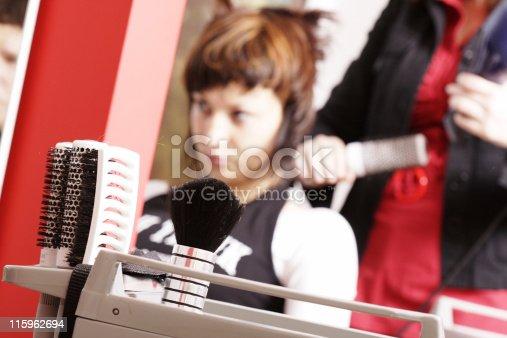 Studio of hairstyles. Cut, combing, arrangement...
