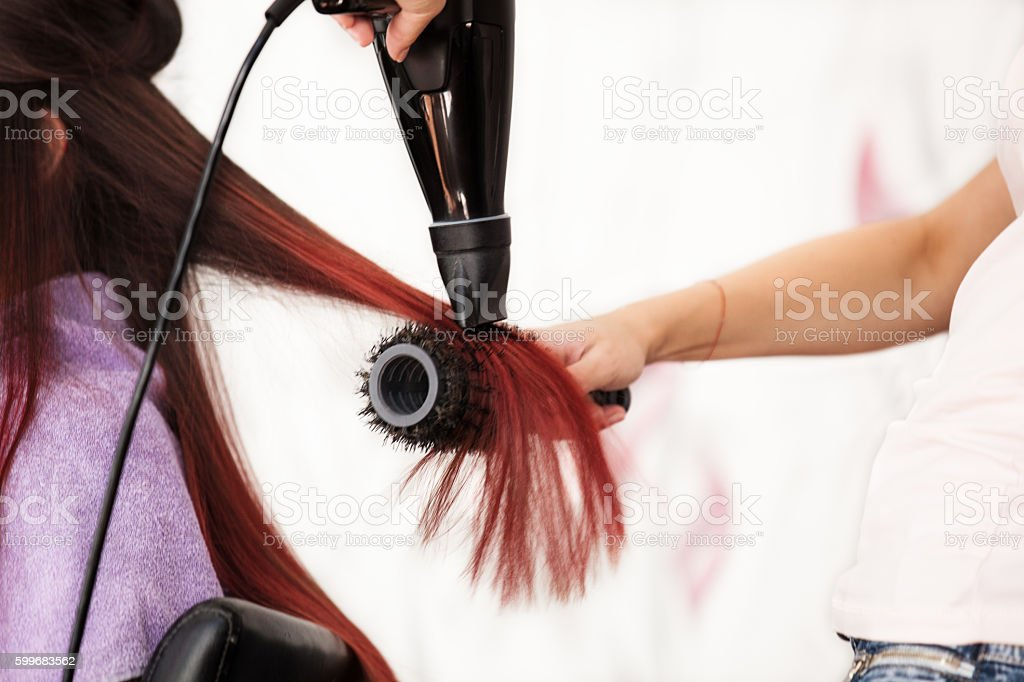 Hairdressing Time stock photo