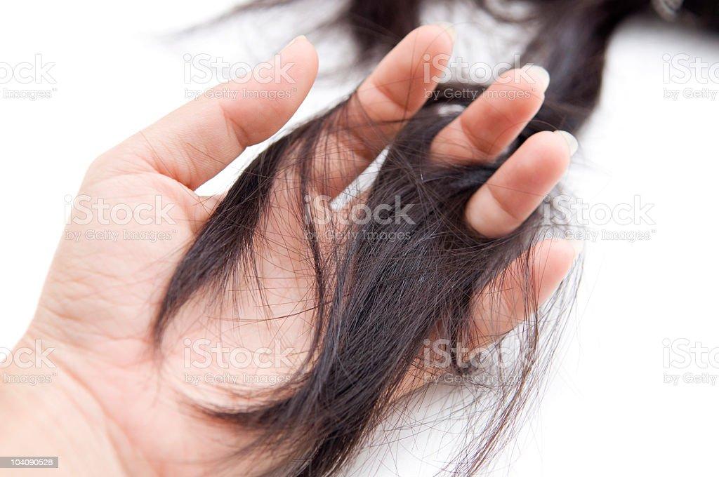 Hairloss stock photo