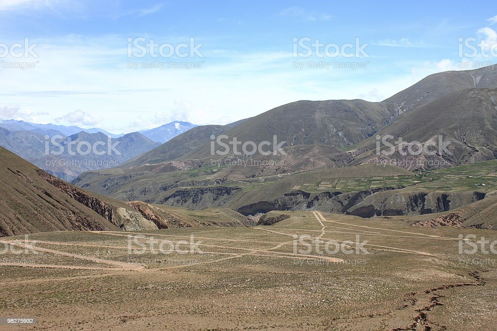 Hairpin Curve royalty-free stock photo