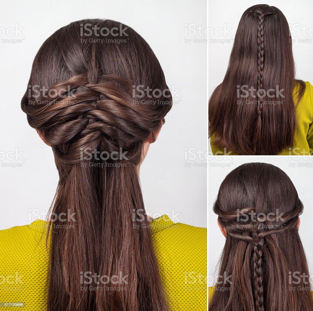Fryzura Długie Włosy Szkolenie Zdjęcia Stockowe I Więcej