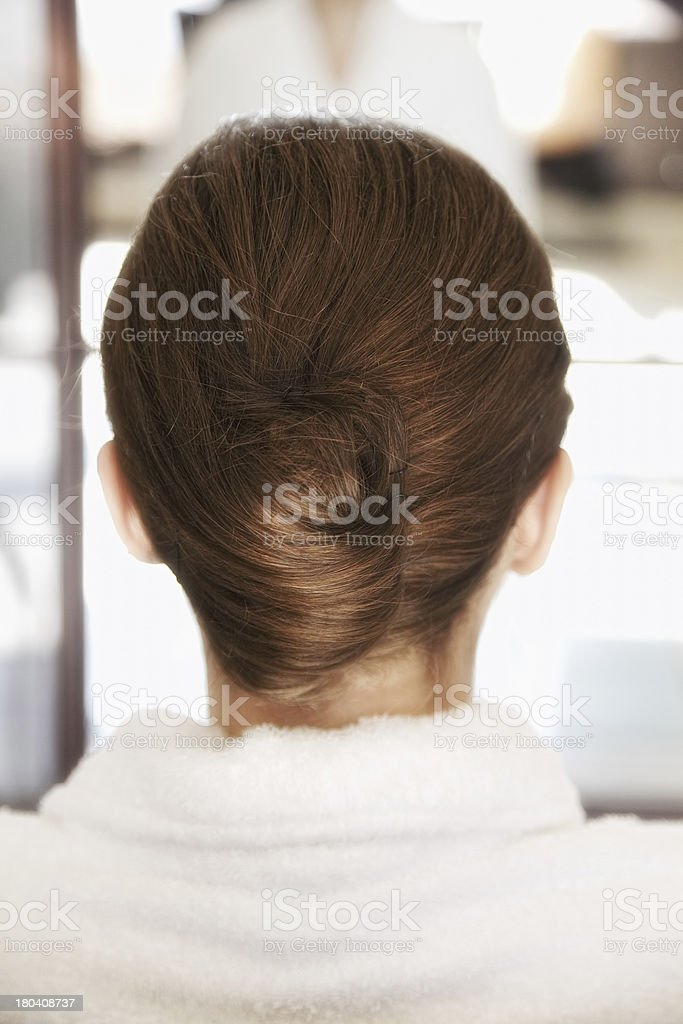 Hairstyle stock photo