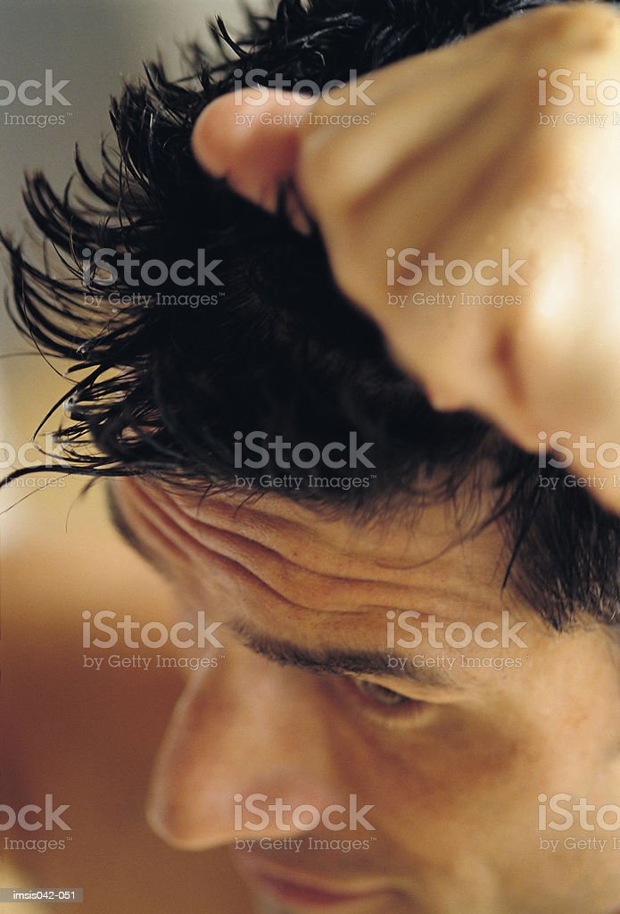 Hairstyling royalty free stockfoto