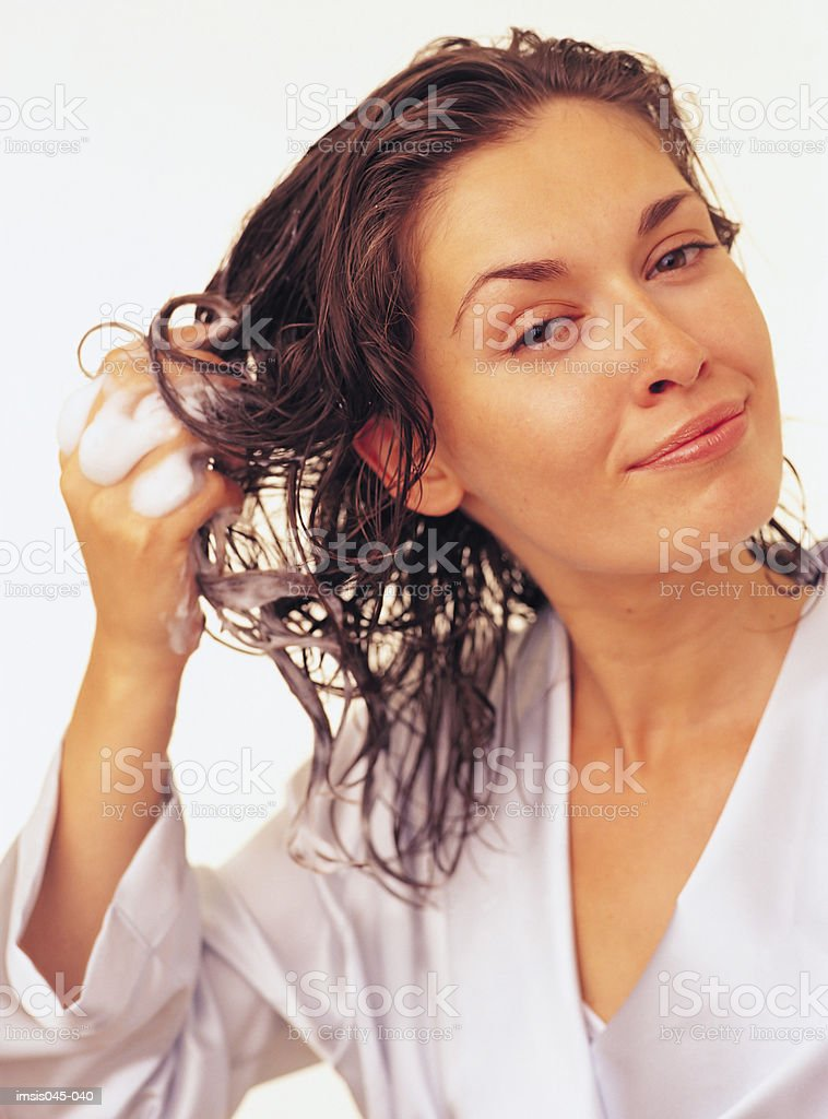 Hairstyling royalty-free stock photo