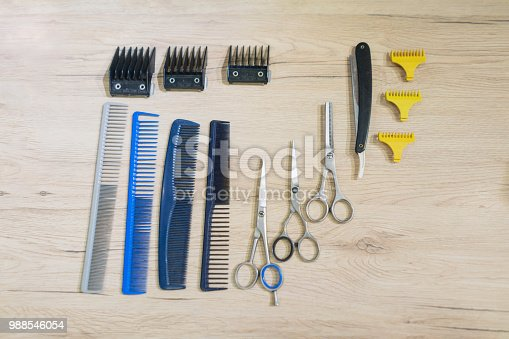 Professional equipment for hair salons