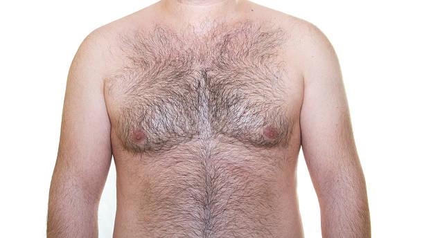 Behaart der Brust – Foto