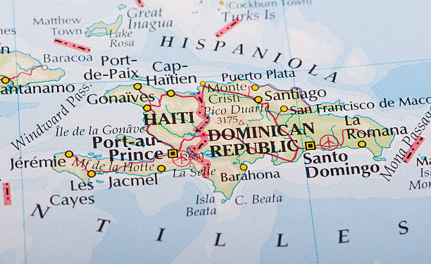 Haitian Map Pictures Images And Stock Photos IStock - Haitian map