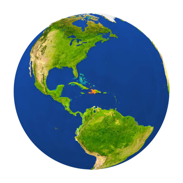 Royalty free haiti map pictures images and stock photos istock haiti highlighted on earth stock photo gumiabroncs Images