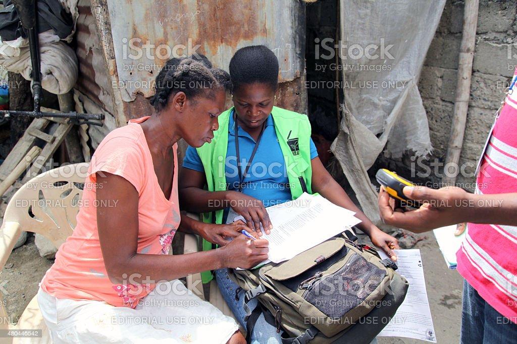 SOIL (Sustainable Organic Integrated Livelihoods), Haiti stock photo
