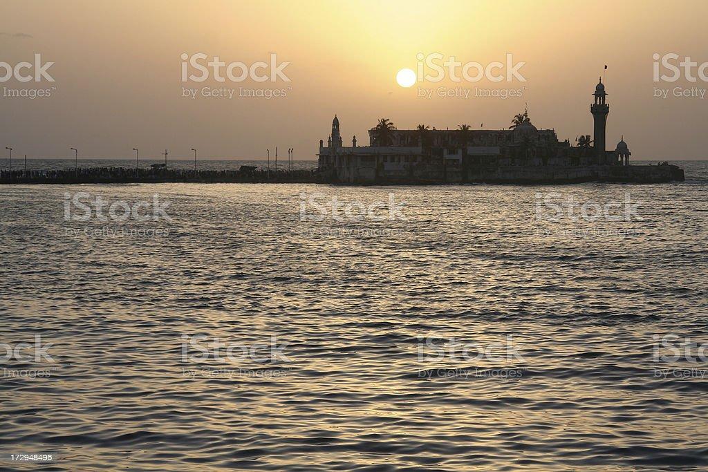 Haji Ali Mosque in Mumbai royalty-free stock photo