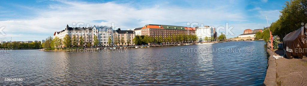 Hakaniemi District royalty-free stock photo
