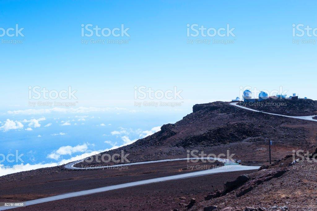 Haleakalā National Park stock photo