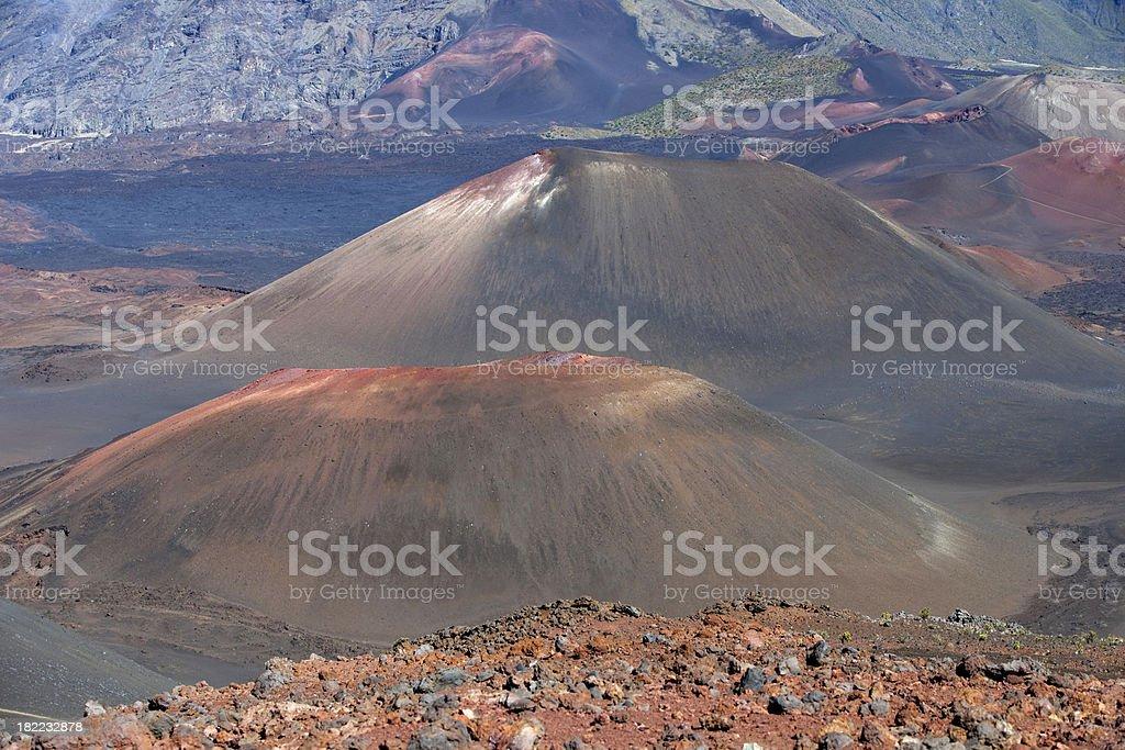Haleakala Cinder Cones stock photo