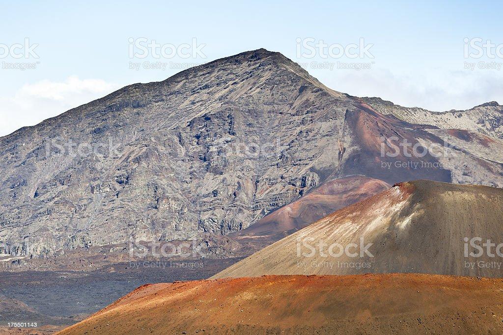 Haleakala Crater Rim, Maui royalty-free stock photo