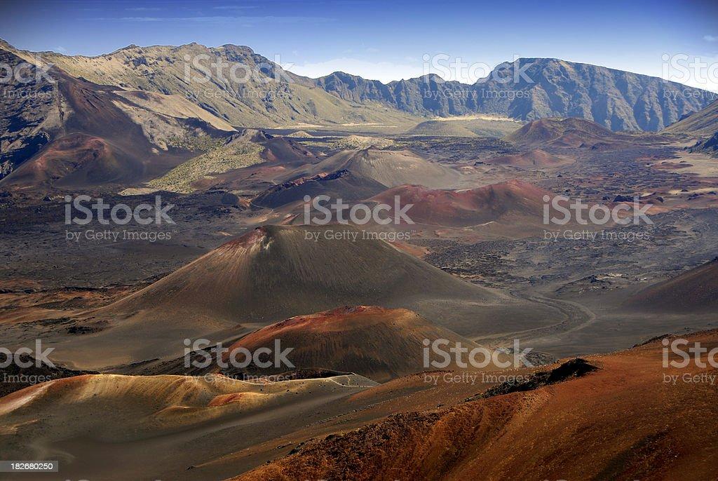 Haleakala Crater / Volcano royalty-free stock photo