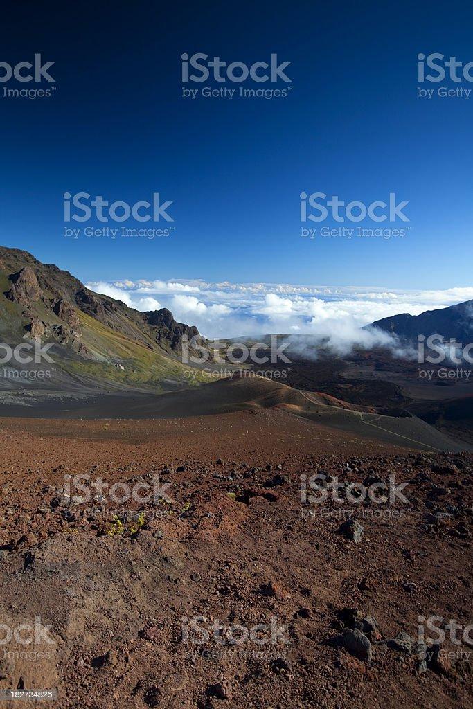Haleakala, Maui royalty-free stock photo