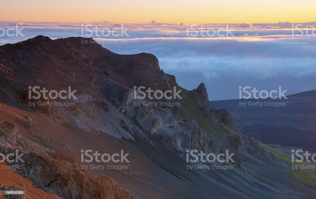 Haleakala Morning royalty-free stock photo